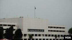 Gedung parlemen Pakistan di Islamabad (Foto: dok).