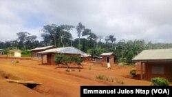 Le village Lom Pangar new look dans l'est du Cameroun, 5 septembre 2018. (VOA/Emmanuel Jules Ntap)