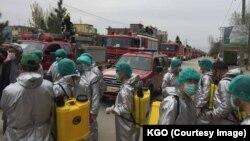 Suasana di Kota Kabul, Afghanistan, saat merebaknya pandemi corona, 27 April 2020. (Foto: dok).