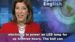 A Soccer Ball That Gives You Energy -- Really