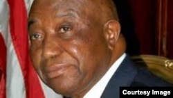FILE - Vice President Joseph Boakai of Liberia.