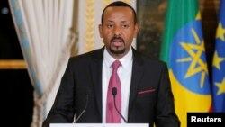 PM Ethiopia Abiy Ahmed (foto: dok). Ethiopia menangkap para mantan pejabat yang diduga melakukan korupsi dan pelanggaran HAM.