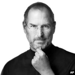 蘋果公司前首席執行官史蒂夫•喬布斯(資料照片)