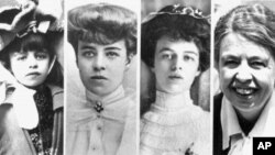 အေမရိကန္ရဲ႕ အထက္ျမက္ဆုံးသမၼတကေတာ္ Eleanor Roosevelt i