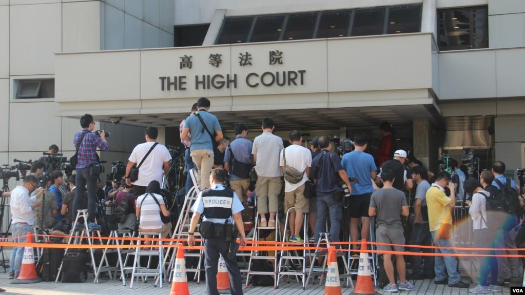 香港高等法院(資料照片)