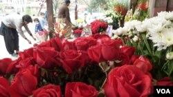 Jour de la Saint-Valentin à Islamabad, au Pakistan, le 14 février 2013.