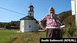 Fata Orlovic returnee to Konjevic Polje, more than a decade is on trial with the representatives of the Orthodox Church because they illegally built a church in her backyard