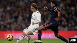 Dan wasan kungiyar Real Madrid Luka Modric