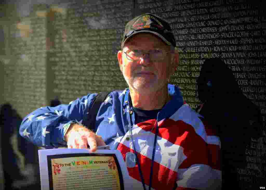 Вернувшимся ветеранам Вьетнама