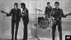 비틀즈 공연 장면 (자료사진)