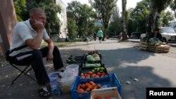 Evropa zabrinuta za ugroženo stanovništvo na istoku Ukrajine. Donjeck, 12. avgust 2014.