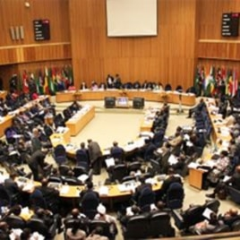 African Union's 18th Ordinary Session of the Executive Council in Addis Ababa, Ethiopia, January 27, 2011
