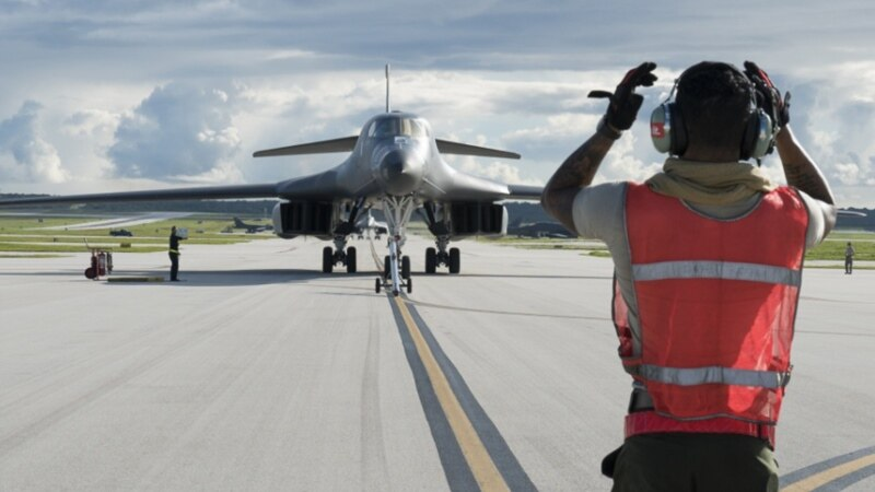 گوام کو خطرہ، اعلیٰ امریکی جنرل جزیرہ نما کوریا پہنچ گئے