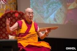 Đức Đạt Lai Lạt Ma, nhà lãnh đạo tinh thần của người dân Tây Tạng