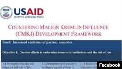 Malign Influence USAID