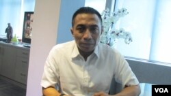 Direktur Tindak Pidana Narkoba Mabes Polri, Brigadir Jenderal Polisi Dharma Pongrekun (VOA/Andylala).