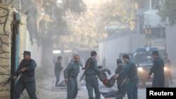 Wurin da aka kai harin kunar bakin wake a Kabul