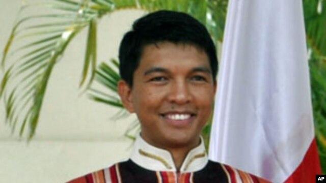 Rais wa mpito madagascar Andry Rajoelina.