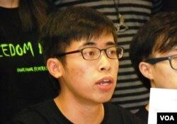 學聯秘書長陳樹暉表示,大專生成為目前參與香港政改運動的最大持份者