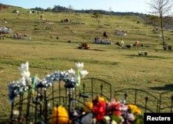 Tempat pemakaman terbesar di Amerika Utara, Rose Hill Memorial Park and Mortuary, di Whittier, California. (Foto: REUTERS)