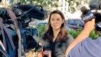 Stephanie Murphy nói chuyện với báo chí, Winter Park, bang Florida, ngày 30 tháng 10, 2018. (Twitter/ Stephanie Murphy)