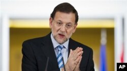 Španski premijer Mariano Rahoj.