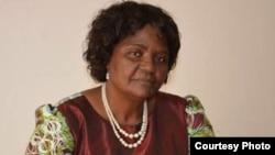 Helena Bonguela Abel, presidente nacional da Liga da Mulher Angolana (LIMA)