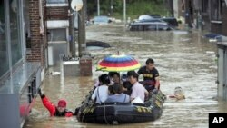 韓國泥石流導致18人死亡