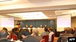 Phần thuyết trình của Tiến sĩ Trần Trường Thủy, Giám Đốc Trung Tâm Nghiên cứu các vấn đề Biển Đông thuộc Học Viện Ngoại giao Việt Nam, ngày 20 tháng 6, 2011
