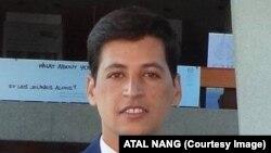 اتل ننگ، دانشجوی افغان در ایالات متحده