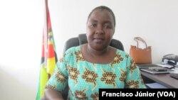 Olga Nassone, directora provincial do Trabalho em Tete
