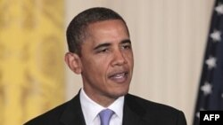 Tổng thống Obama nói chuyện tại cuộc họp báo