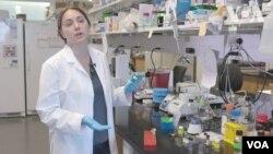 Olena Taratula di Laboratorium Taratula, Universitas Oregon.