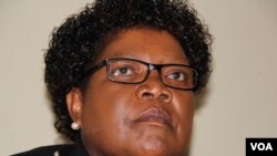Former Vice President Joice Mujuru. (Photo: Mavis Gama)