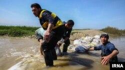 تصویری از وضعیت گمیشان در استان گلستان سه روز پس از سیل