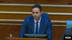 Novi predsjednik Skupštine Kosova Glauk Konjufca, potpredsjednik Pokreta Samoopredeljenje (Foto: VOA)