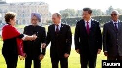 金磚五國領導人曾經在2013年會晤(資料圖片)