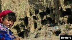 بامیان میں بودھ دور کے قدیم آثار۔ فائل فوٹو