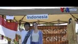 Christina Narendra Mengajar Tari Indonesia - VOA untuk Dahsyat