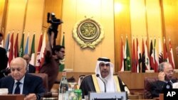 Réunion de la Ligue arabe (archives)