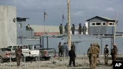 Tentara AS dan Afghanistan di Kabul, Afghanistan (Foto: dok).