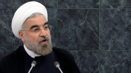 Iran's President Hassan Rouhani addresses the 68th United Nations General Assembly at UN headquarters September 24, 2013.