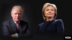 این اولین مناظره این دو نامزد است.
