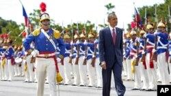 صدر اوباما برازیل پہنچ گئے