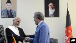 غنی و عبدالله برای حل اختلافات شان چند بار ملاقات کرده اند