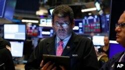 Les trois grands indices de Wall Street ont enregistré leur pire journée de l'année.