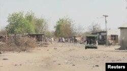 Barnar da Boko Haram tayi wa garin Izghe, Fabrairu 15, 2014.