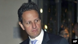U.S. Treasury Secretary Timothy Geithner. (file photo)
