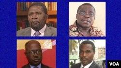 Não á independência de Cabinda. Sim ao díálogo para resolver aspirações dos cabindas. Os lideres da oposição angolana.