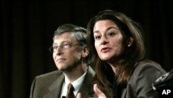 Bill and Melinda Gates (2011 file photo)